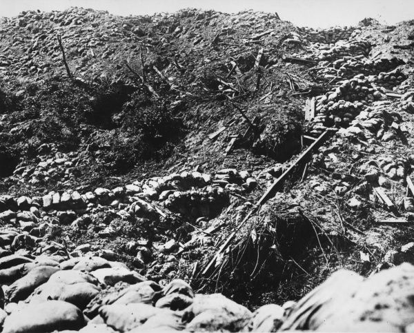 Part of Hill 60, situated to the south-east of Ypres