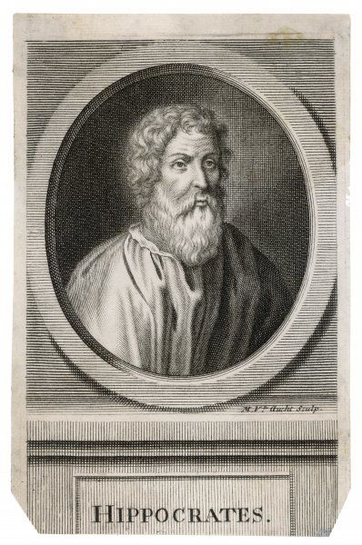 HIPPOCRATES. Greek medical