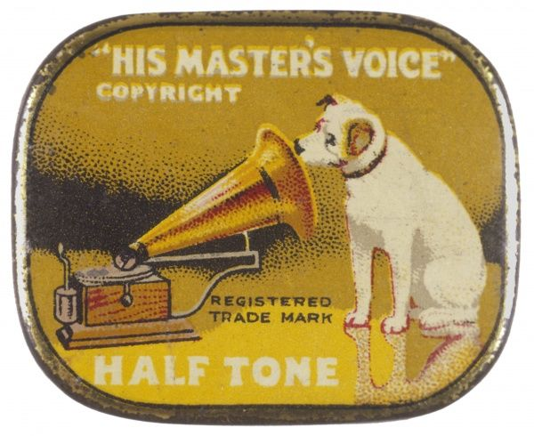 His Master's Voice: the HMV dog listens eternally