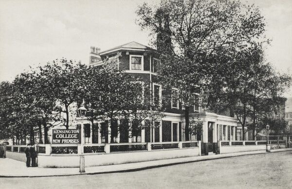 Holland Park, London - The New Premises of Kensington College