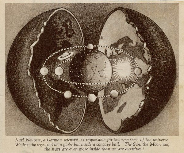 THE HOLLOW EARTH Neupert's model