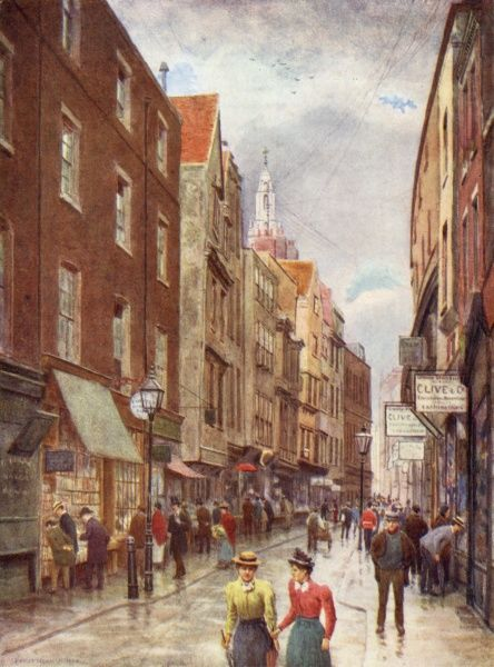 Holywell Street, off the Strand