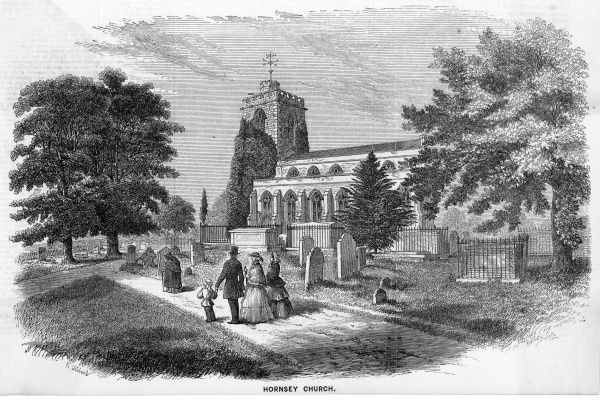 A family visit to Hornsey Church