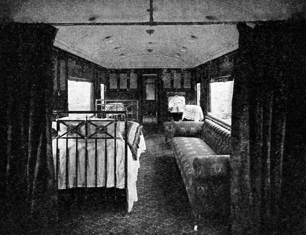 A hospital on wheels, the invalid saloons on the London and North Western Railway