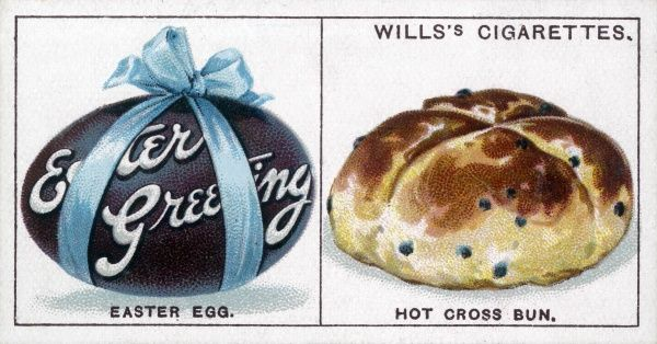 HOT CROSS BUN and Easter Egg