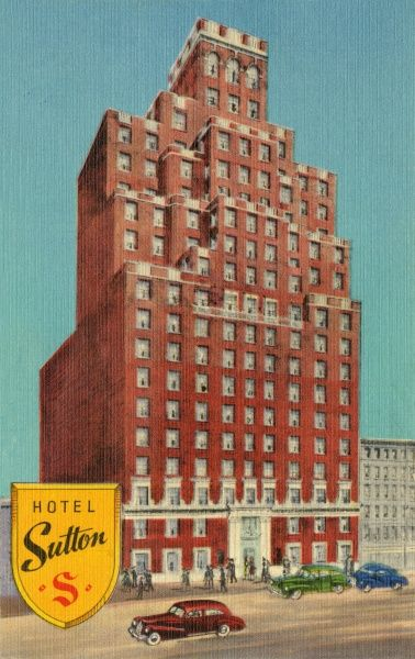 Hotel Sutton on East 56th Street, New York City, America