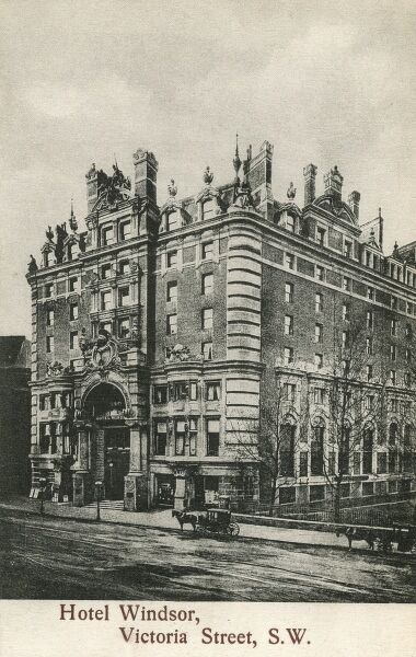 Hotel Windsor, Victoria Street, Pimlico, London