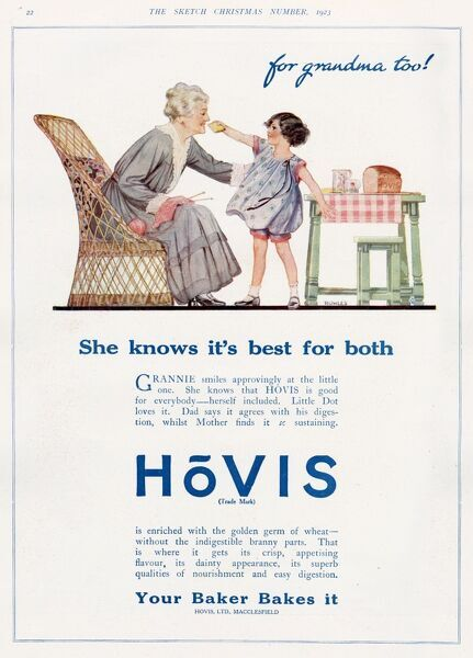 HOVIS - FOR GRANDMA TOO !