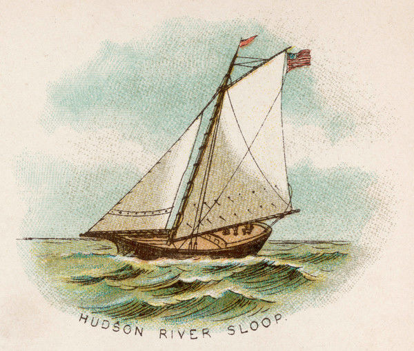 HUDSON RIVER SLOOP