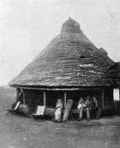 A good specimen of a taxed hut, the subject of the Hut Tax War, an insurrection by the native population in pockets of Sierra Leone, which necessitated the sending of troops from the West Indian Regiment to West Africa in what was known as the