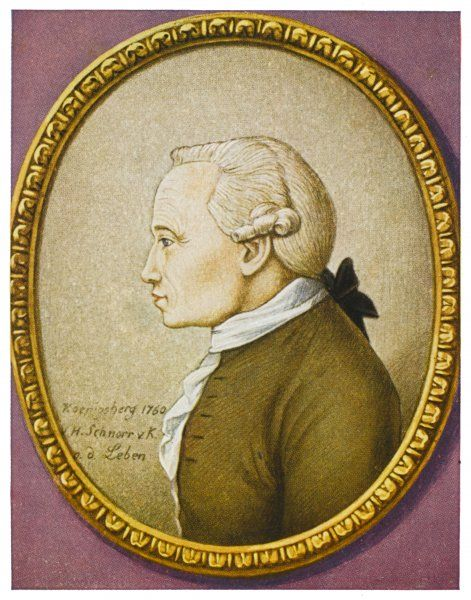 IMMANUEL KANT German philosopher