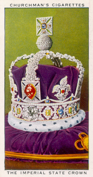 CROWN JEWELS OF ENGLAND The Imperial state crown