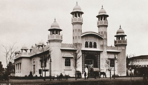 The Indian Palace at the Franco-British Exhibition at White City, London