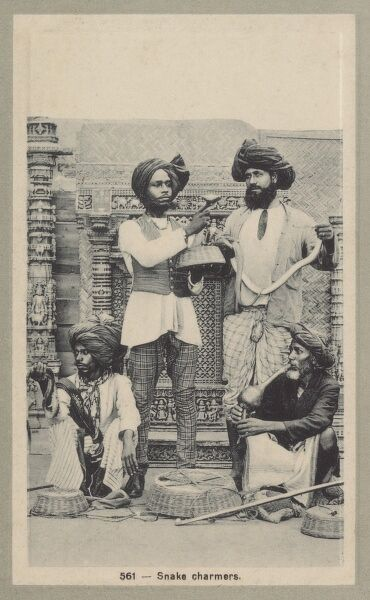 Indian Snake Charmers Date: circa 1910s