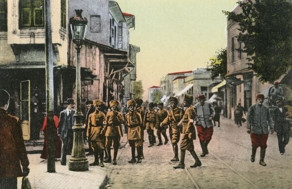 Indian troops in Salonica during WWI