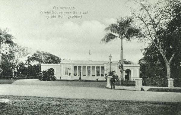 The Dutch Governor General's Palace at Jakarta, Indonesia