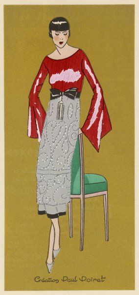 Paul Poiret's suggestion for Christmas wear