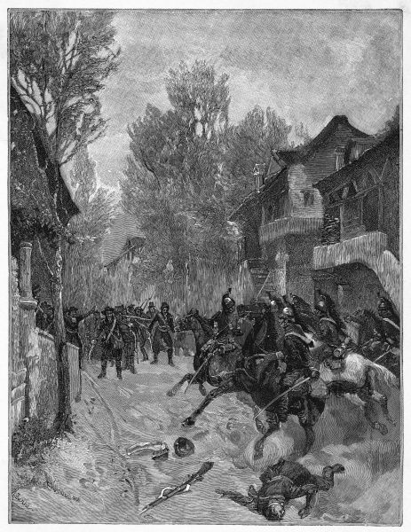 Mazzini's attempted insurrection in Savoia is dispersed by the French