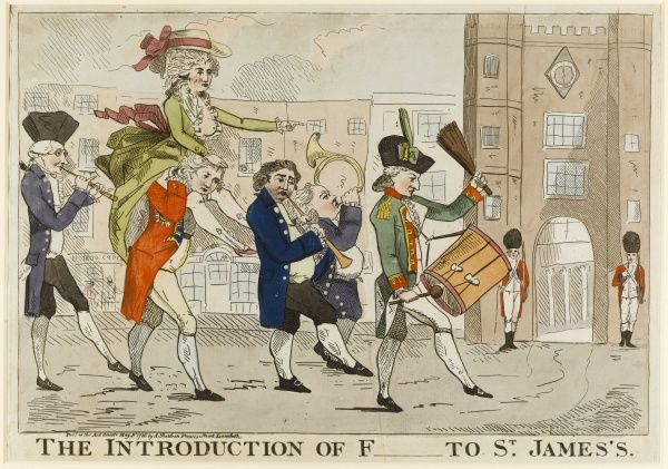 The Introduction of F[itzherbert] to St. James's Date: 1786