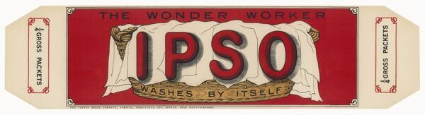 IPSO - the Wonder Worker - washes by itself