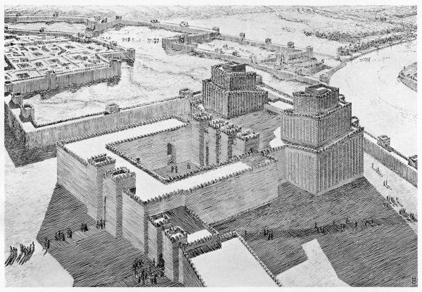 Reconstruction of the Anu- Adad Temple of Shalmaneser III at Ashur