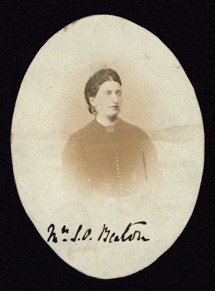 ISABELLA MARY BEETON writer on cookery and household management