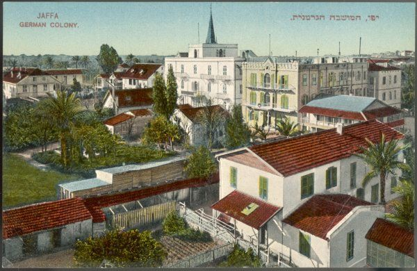 Jaffa: view of the German colony