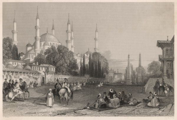 The Hippodrome in Istanbul