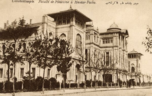 Istanbul - Hospital at Haydar Pasa, Turkey - The Faculty of Medicine. Date: circa 1910s