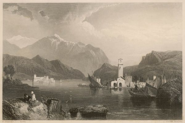 View on the lake of Como