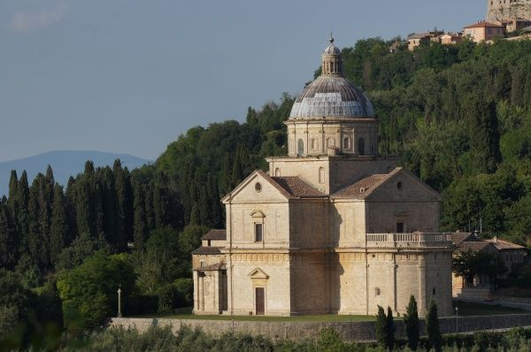 Italy, Tuscany, Province of Siena, Montepulciano: San Biagio. Date: 2010
