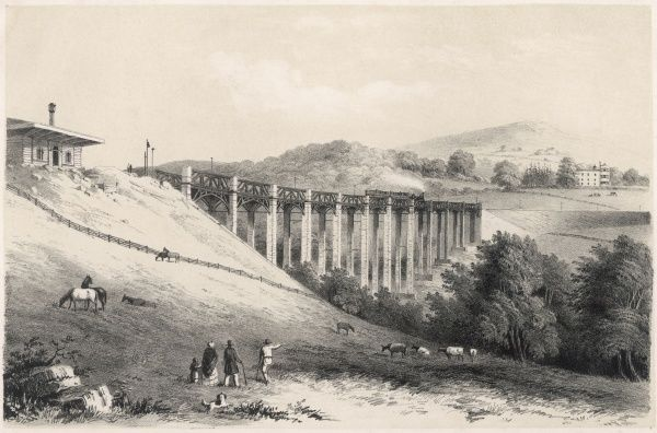 Built by Brunel to carry the South Devon Railway over the river Erme