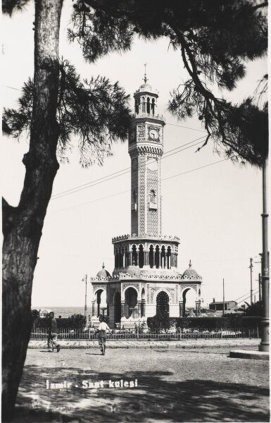 Tower built to commemorate the Jubilee of Sultan Abdulhamid II