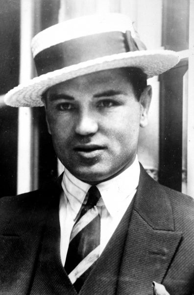 Photographic portrait of Jack Dempsey (1895-1983) the American heavyweight boxer. The date of this picture is unknown, but probably c.1925