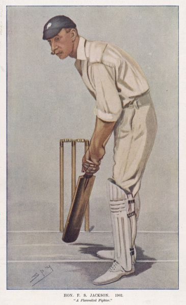 (Sir Francis) Stanley Jackson, English cricketer (1870-1947)