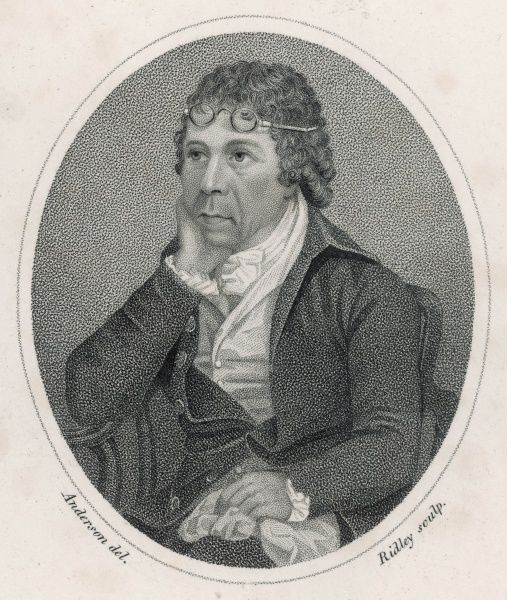 JAMES ANDERSON - Scottish economist and inventor : actively concerned with the Scottish fisheries, and in agricultural reform, where he made valuable innovations