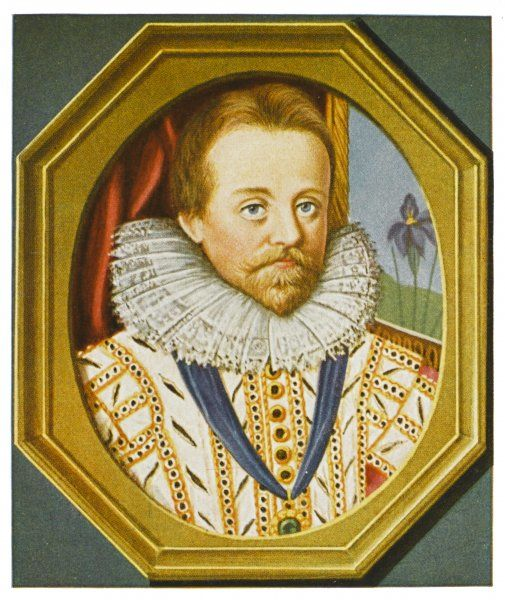 JAMES I of England James VI of Scotland