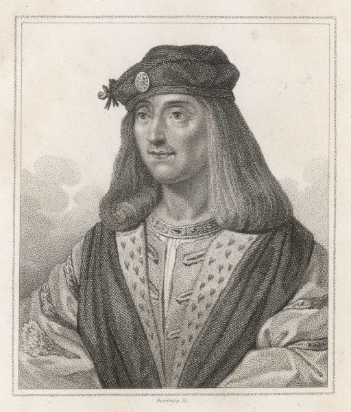 JAMES IV OF SCOTLAND Invaded England and was killed at Flodden Field