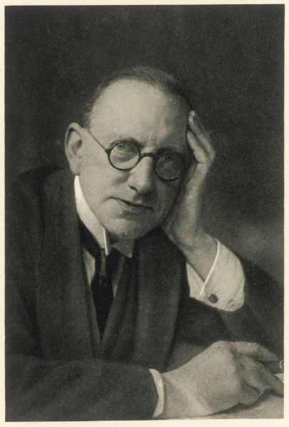 JAMES LOUIS GARVIN Editor of the 'Observer', circa 1924