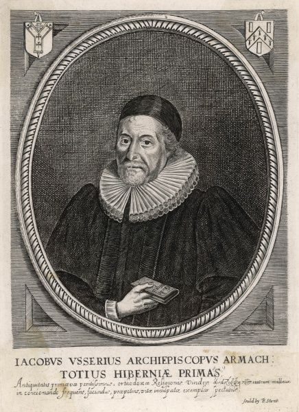 JAMES USSHER Greek scholar and neo- Platonist philosopher, a violent opponent of Christianity