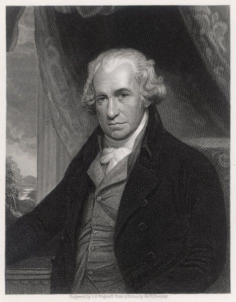 JAMES WATT Scottish engineer