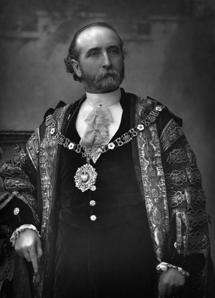 JAMES WHITEHEAD businessman and Lord Mayor of London, presumably in 1889 not listed in DNB Date: 1834 - ?