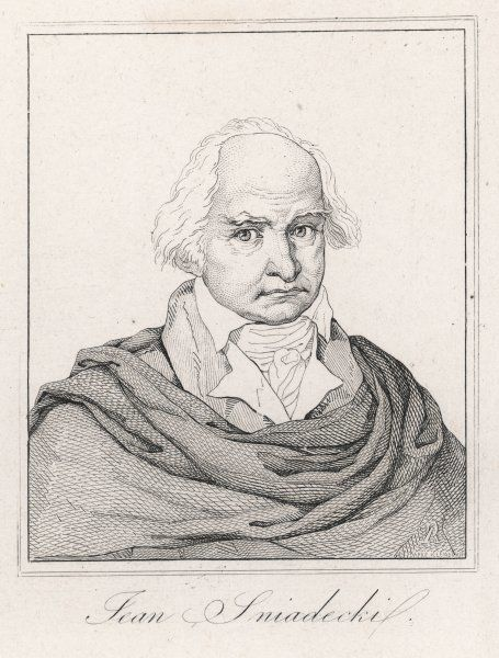 JAN BAPTIST SNIADECKI Polish astronomer, director of the Wilna observatory from 1806. Brother of Jedrzej S