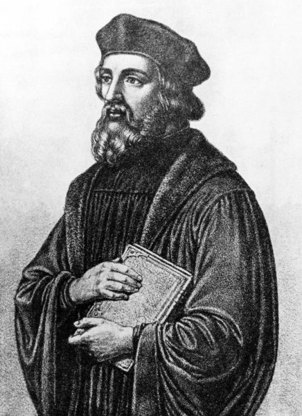 JAN HUS Bohemiam religious leader who was burnt at the stake for heresy, despite his denials Date: 1372? - 1415