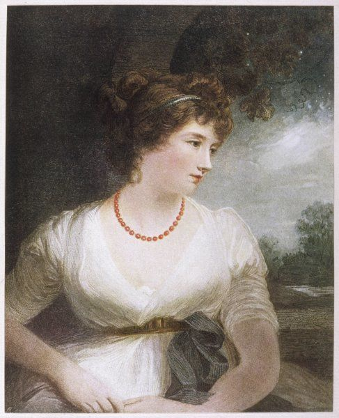 JANE ELIZABETH SCOTT Wife of 5th Earl of Oxford Mistress of Byron when she was 40, he 25
