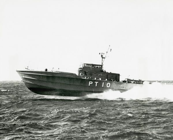 Japanese Defense force PT10 motor torpedo boat powered by three Deltic T18-37K engines Date