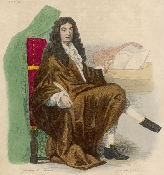 JEAN BAPTISTE LULLY French composer and court musician