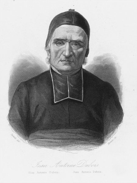 Jean Antoine Dubois, a French Catholic missionary to India