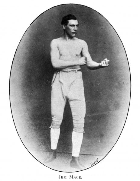 """Gypsy"" Jem Mace (1831 - 1910), English champion and known as the ""Father of Modern Boxing"" Date"