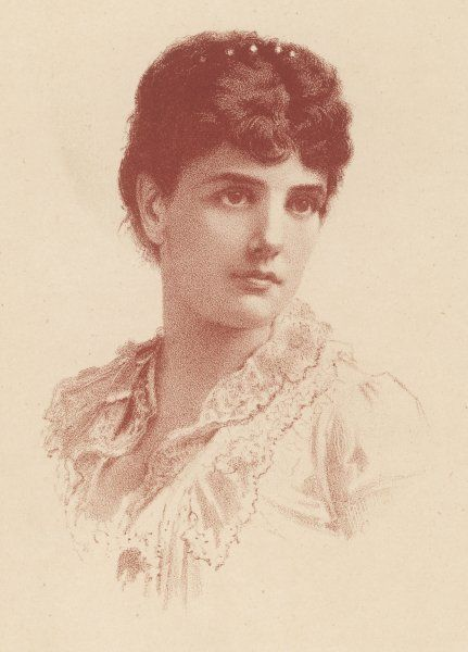 JENNIE JEROME LADY RANDOLPH CHURCHILL Later wife of George Cornwallis-West